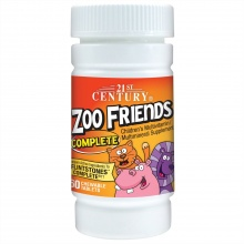 Витамины 21st Century Complete ZOO FRIENDS 60таб