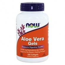 NOW. Aloe Vera 10 000 mg 100 softgels